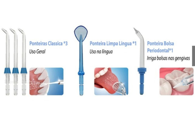 Irrigador Oral WaterPulse water flosser Dental Wp300g Limpeza Profunda