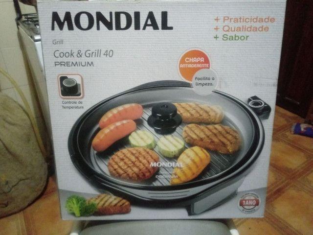Grill mondial novo na caixa - Foto 2