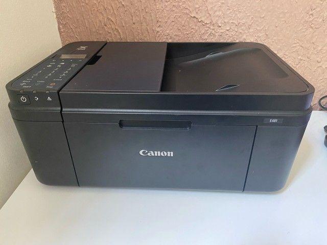 Impressora canon E481 (com defeito)