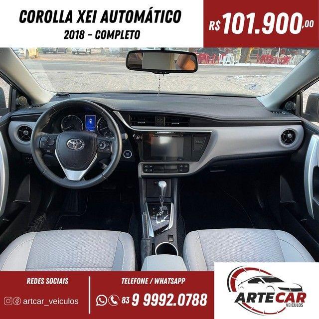 Toyota Corolla xei 2018 automático !!40 mil km - Foto 3