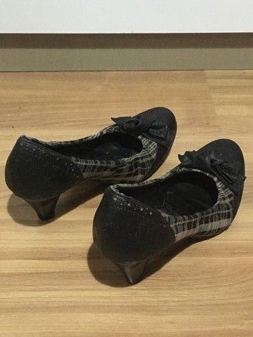 Sapato salto alto xadrez - Foto 3
