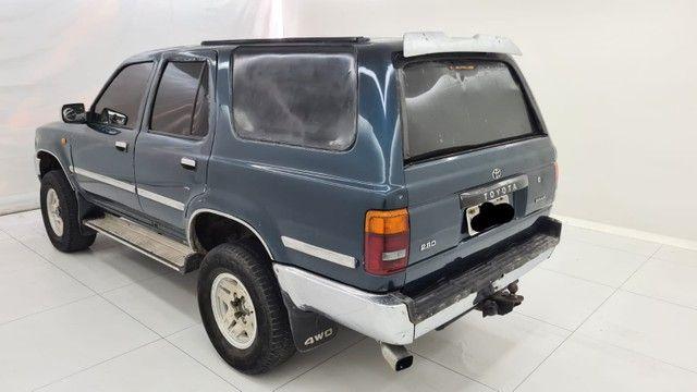 Raríssima Hilux sw4 2.8 4x4 diesel  1994 - Foto 2