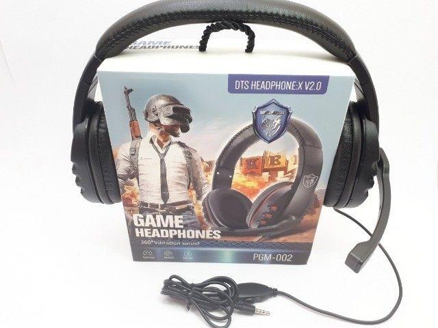 Fone Gamer Headphone Para Celular Ps3 Ps4 Pc Notebook Smartphones - Foto 4