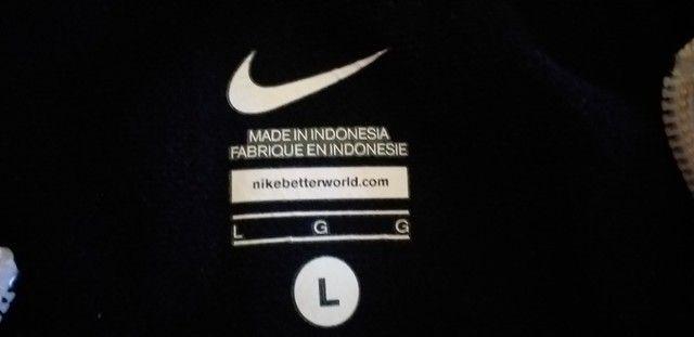 Conjunto Unissex Nike Original na embalagem calça + jaqueta - Foto 3