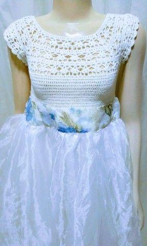 Vestido p/ casamento ( criança )