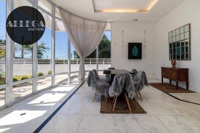 Casa com 5 quartos, 4 suítes, 2 piscinas privativas, à venda, 750 m² por R$ 4.400.000 - Ca - Foto 17