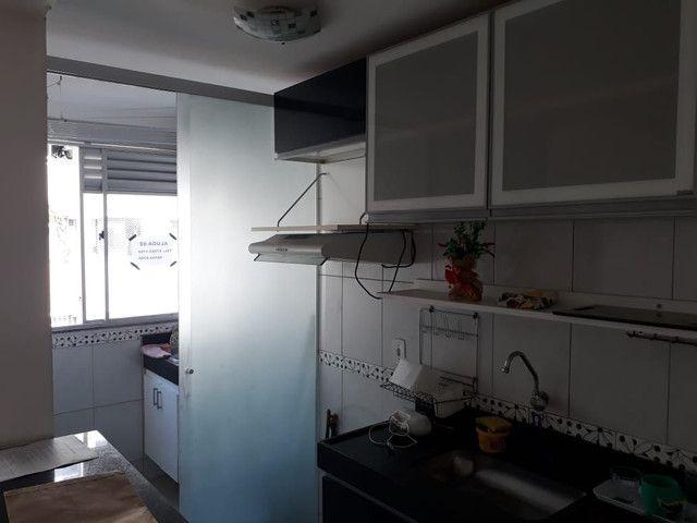 Apartamento de dois quartos financiado e reformado próximo ao centro de Belford roxo - Foto 9