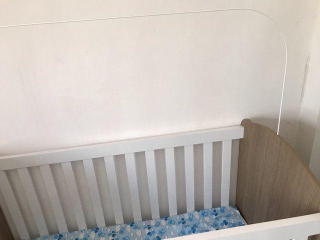 Berço com colchão semi novo  - Foto 2