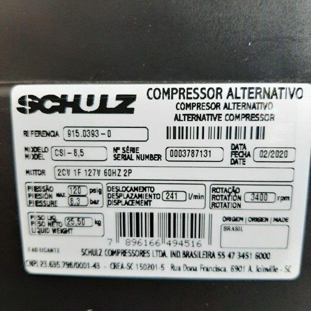 Compressor CSI 8,5 - 25Litros - 120Libras - Foto 2