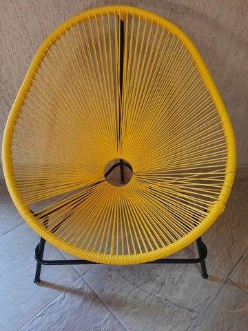 Vendo cadeira Acapulco nova