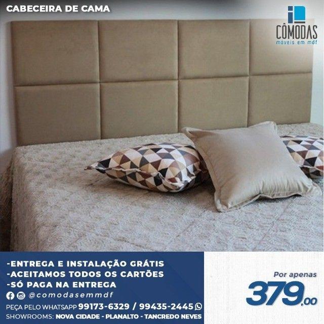 Cabeceira Acolchoadas- Para qualquer tamanho de cama