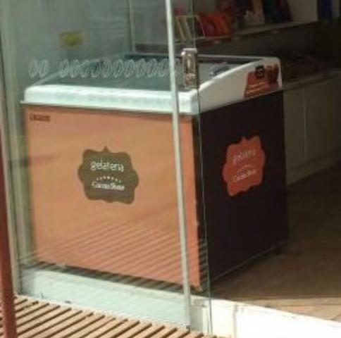 Freezers açaí/sorvete tampa de vidro seminovos - 320 L