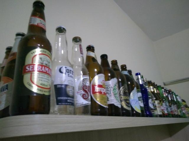 Garrafas de cervejas para colecionador