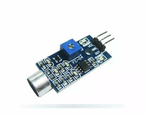 Módulo Detector Sensor De Som Palmas - Foto 2