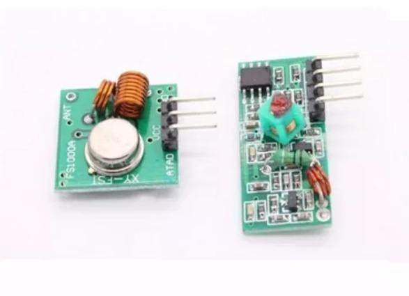Módulo Rf Transmissor Receptor 433mhz Am Rx Tx