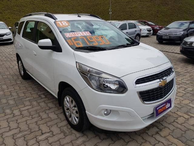 Gm - Chevrolet Spin Spin Ltz 1.8 Aut 7 Lugares 17/18 - Foto 2