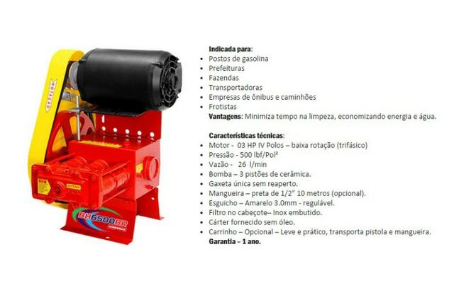 Lavadora BH 6500 - Fixa Hidromar - Foto 2