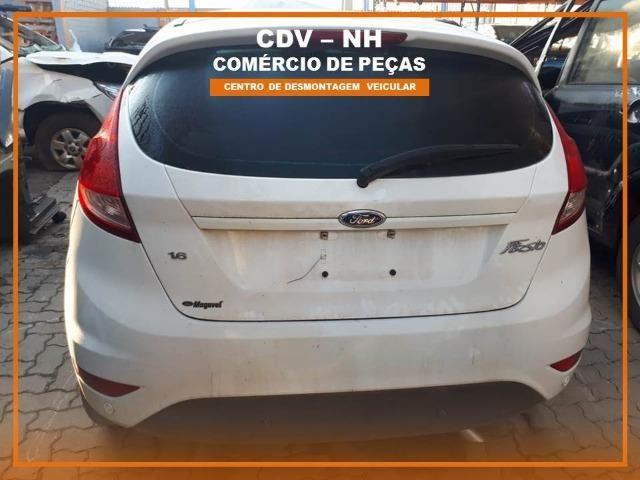 Sucata Ford Fiesta 2017 1.6 128cv Flex - Foto 3