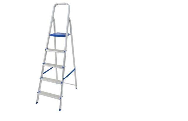 Escada Alumínio 5 Degraus produto novo