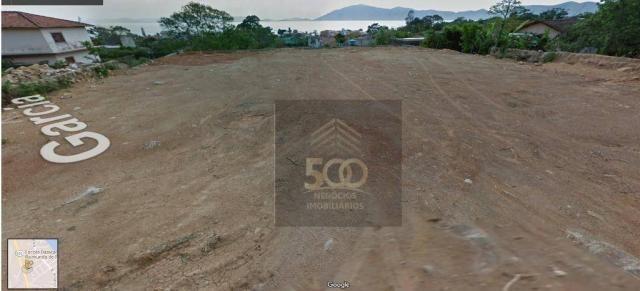 Te0005 - terreno à venda, 364 m² por r$ 170.000 - praia de fora - palhoça/sc - Foto 3