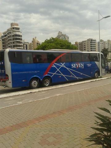 Onibus 40 lugares leito.Aceito automovel,microonibus ou imovel na troca. - Foto 5