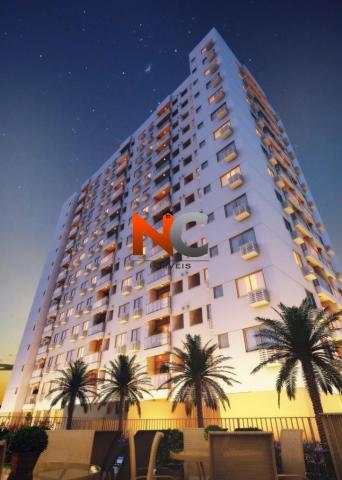 Apartamento com 3 dorms, nobre norte clube residencial - r$ 474 mil.
