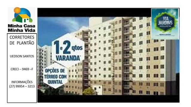 UED-94 - Apartamento 2 quartos com lazer completo em morada de laranjeiras - Foto 6