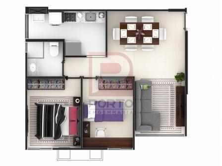Apartamento à venda com 2 dormitórios cod:64791 - Foto 4