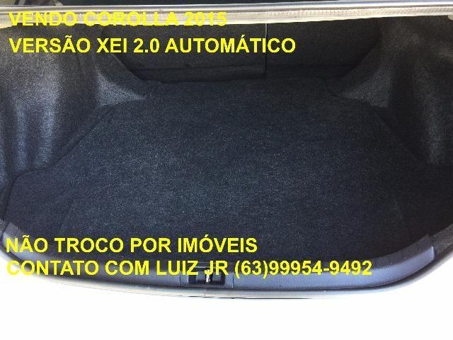 Corolla Xei 2015 - 04 pneus Michelin Zero - Documento pago - Estado de Zero - Foto 12