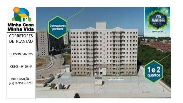 UED-94 - Apartamento 2 quartos com lazer completo em morada de laranjeiras - Foto 5
