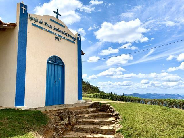 Linda chácara em Santa Teresa frente vale do Caravagio - Foto 16