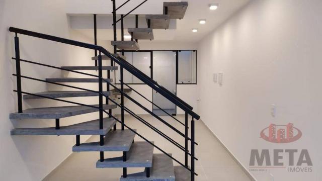 Sobrado com 2 dormitórios à venda, 58 m² por R$ 187.000,00 - Jardim Sofia - Joinville/SC - Foto 4
