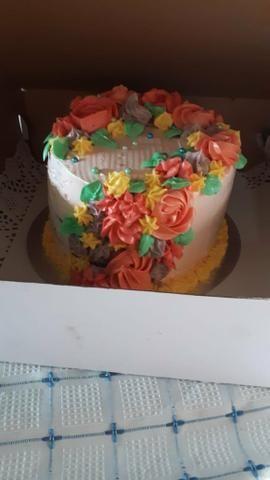 Trabalho com doces salgados e bolo de aniversário faça sua encomenda - Foto 5