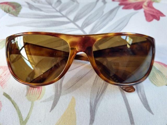 Óculos de sol Ray-Ban Unissex - excelente conservação - Foto 2