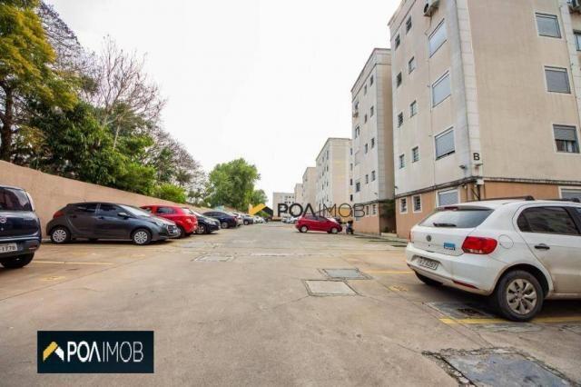 Apartamento com 2 dormitórios para alugar, 54 m² por R$ 1.800,00/mês - Protásio Alves - Po - Foto 18