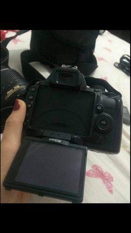Câmera profissional nikon - Foto 2