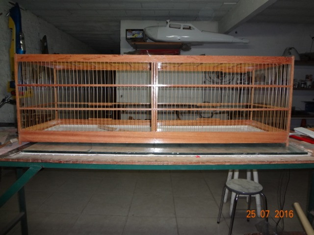 Gaiola 25 x 43 x 100 cm - Foto 2