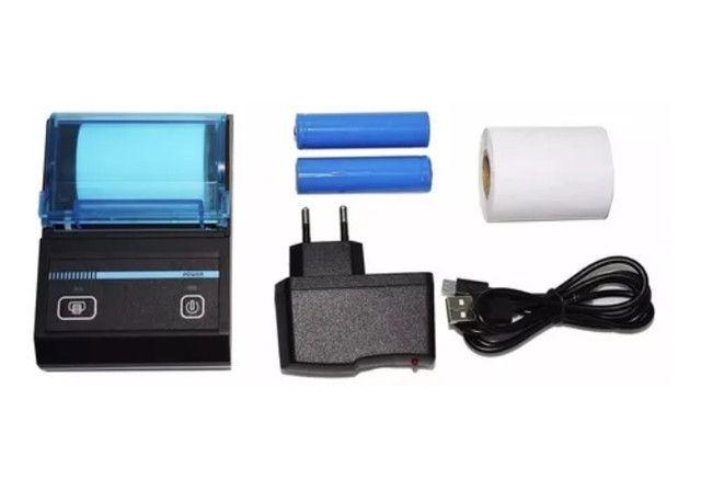 Mini Impressora Portatil Bluetooth Termica Kp-1020 Knup/ifood - Foto 3