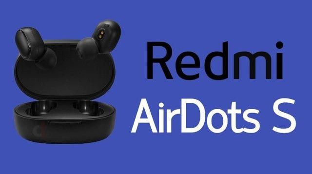 Fone de ouvido Xiaomi Mi Airdots S bluetooth - modelo novo com função para games