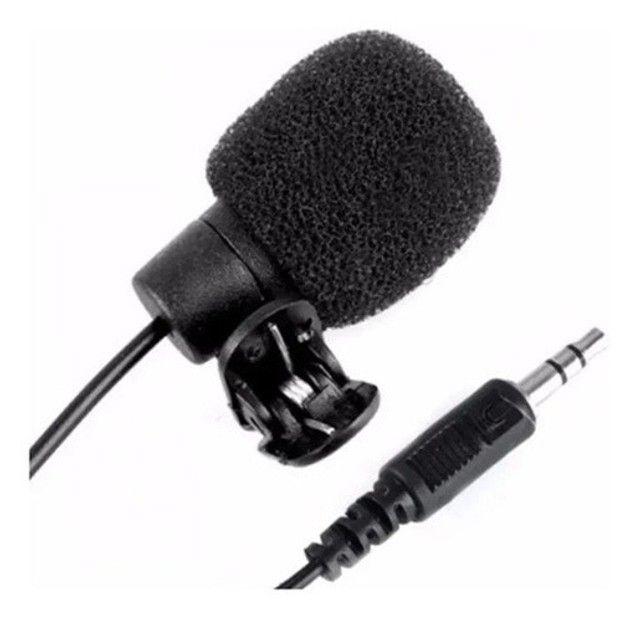 Microfone De Lapela Para Celular