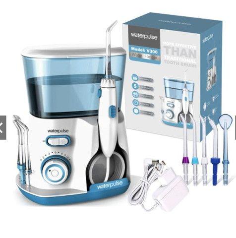 Irrigador Oral WaterPulse water flosser Dental Wp300g Limpeza Profunda - Foto 6