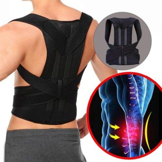Corretor de postura para aliviar dores nas costas