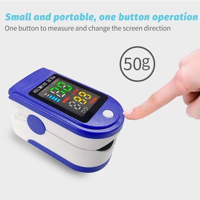 Termômetro digital ELERA sem contato para uso adulto/infantil + oxímetro - Foto 6
