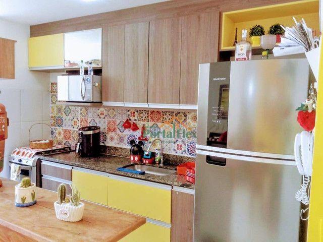 Apartamento com 2 dormitórios à venda, 62 m² por R$ 240.000,00 - Valparaíso - Serra/ES - Foto 9