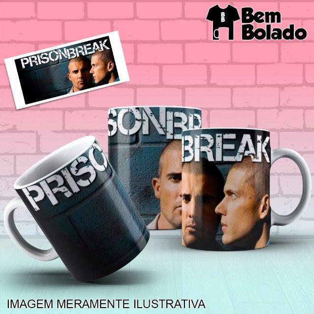 Caneca Prison Break Série Netflix - Foto 3