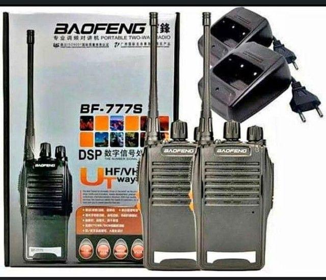 RÁDIO COMUNICADOR transmissor walk talk BF777S.  GARANTIA é nota . Receba hoje . - Foto 5
