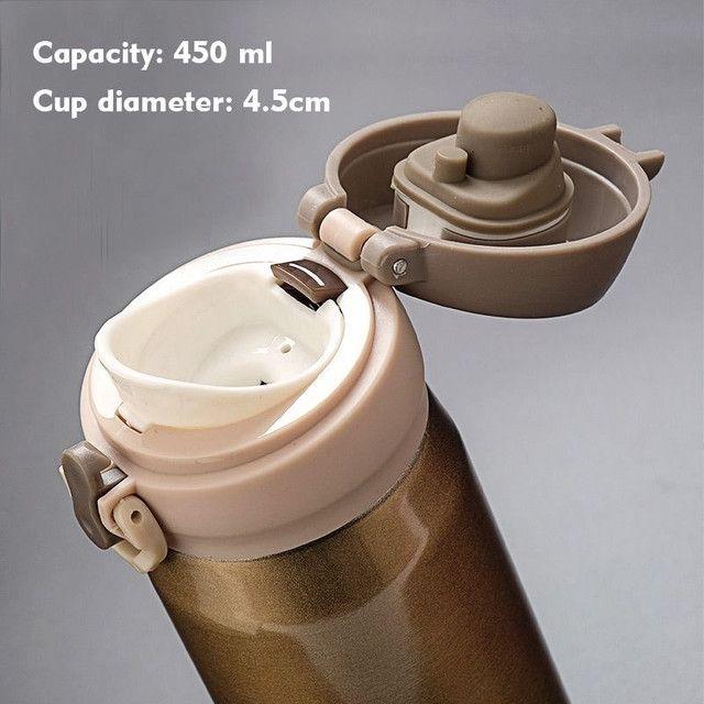 Garrafa térmica inox várias opções - Foto 3