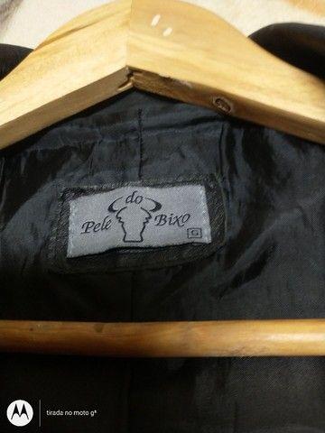 Jaqueta de couro original feminino - Foto 3