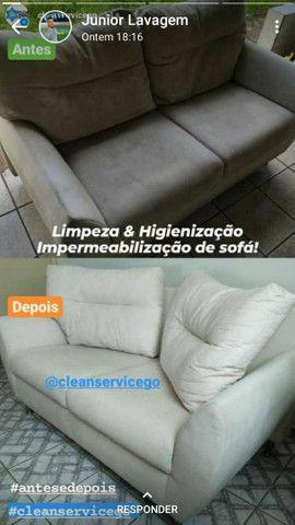 Impermeabilização é lavagem a seco de sofás e estofados em geral