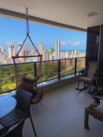 Apartamento com 4 dormitórios à venda, 201 m² por R$ 1.300.000,00 - Miramar - João Pessoa/ - Foto 11